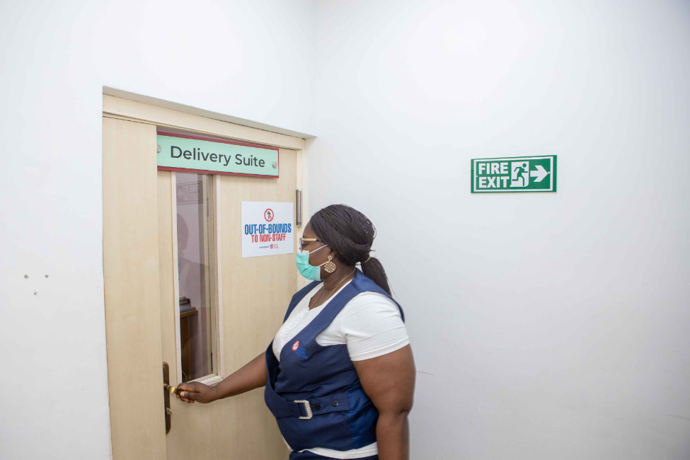 Delivery Room Entrance