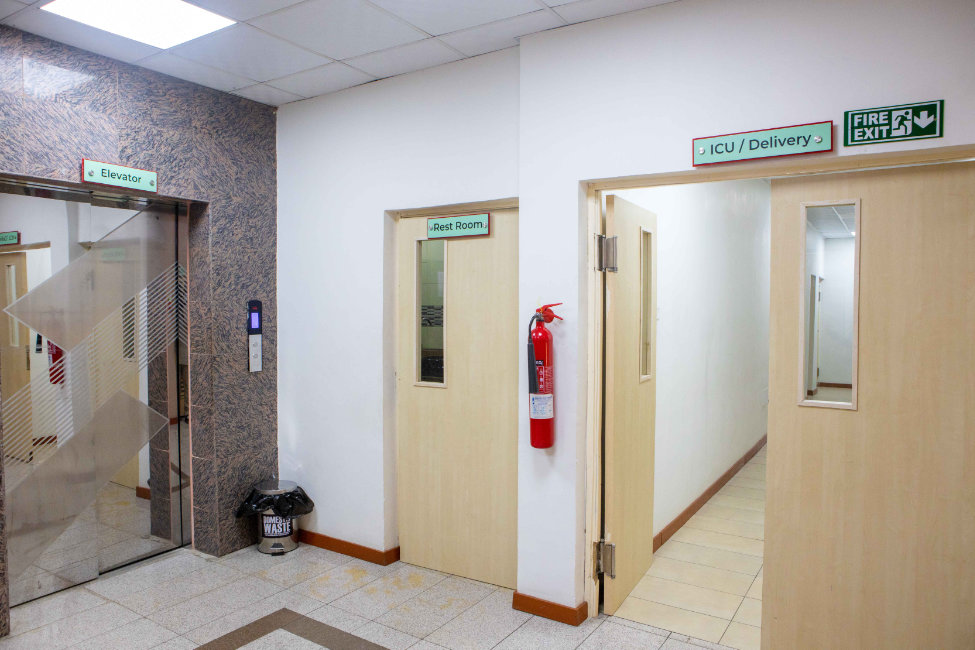 ICU and Delivery Entrance